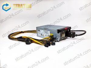 Блок питания для ASIC Antminer HP HSTNS PA01 80PLUS SILVER 1300W